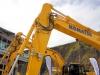 Komatsu excavators. Hillhead showground