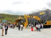 Finning CAT exhibition stand. Hillhead showground.