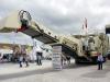 Metso Lokotrack LT125 mobile jaw crusher. Hillhead exhibition.