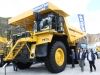 Komatsu off-highway truck at Hillhead Quarrying & Recycling Show