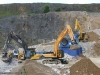 Quarry face demo area at Hillhead Quarrying & Recycling Show