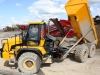 JCB articulated dump truck in the recycling demo area. Hillhead Quarrying & Recycling Show