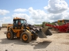 JCB wheel loader in the recycling demo area at Hillhead