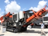 Sandvik crusher at Hillhead Quarrying & Recycling Show