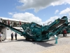 Powerscreen screen at Hillhead Quarrying & Recycling Show
