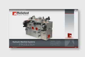Custom hydraulic manifold presentation video link