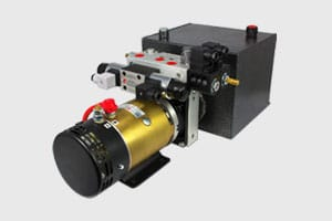 DC hydraulic power pack
