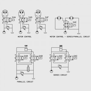4 Way 2 Position Spool Valve Typical Schematic