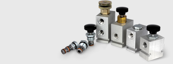 Hydraulic mechanical directional control valves