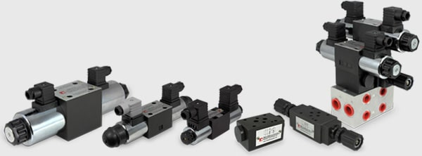 Hydraulic Cetop controls & subplate range