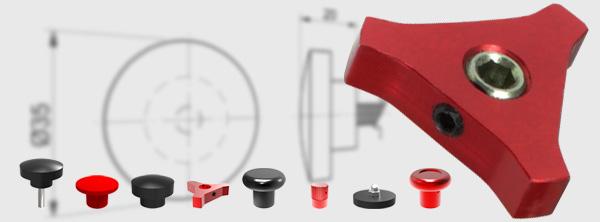 Standard Knob Assemblies for Hydraulic Cartridge Valves