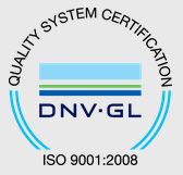 ISO 9001:2000 quality certificate