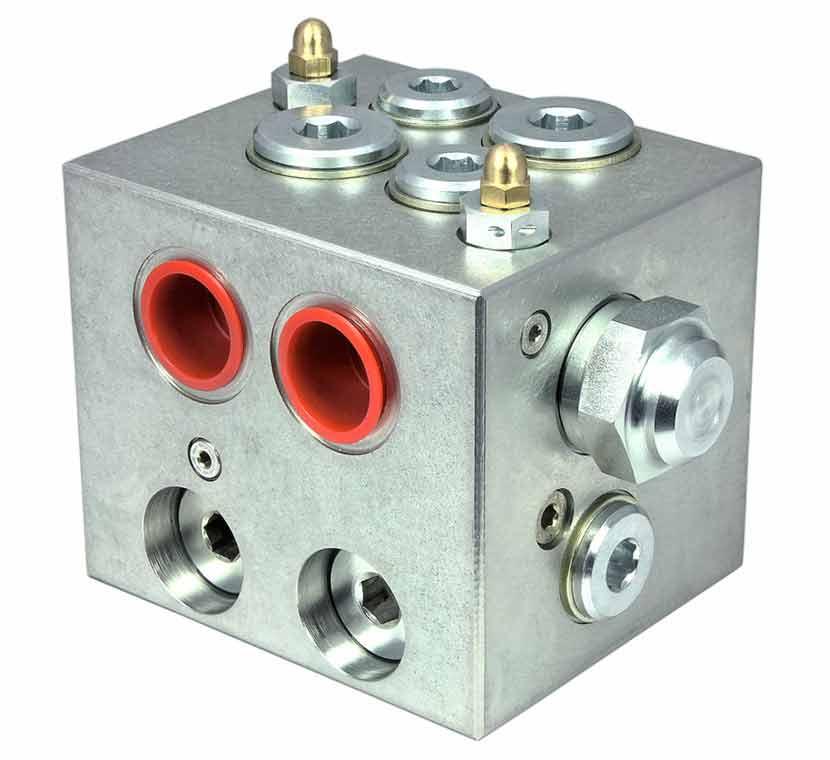 Standard hydraulic manifold