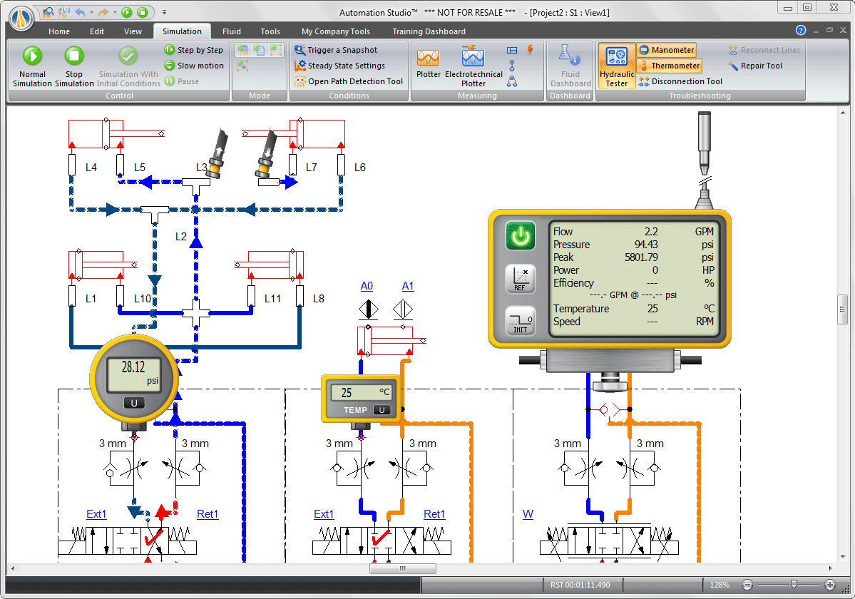 Simulation Related Fluid Power Best Circuit Simulator About