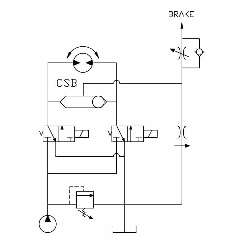Shuttle Valve circuit