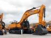 Case excavator. Hillhead showground.