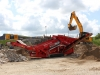 Maximus screener at Hillhead recycling demo area