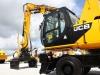 JCB wheeled excavator at Hillhead