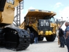 CAT off-highway truck at Hillhead Quarrying & Recycling Show