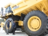 CAT mining truck at Hillhead Quarrying & Recycling Show