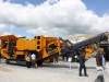 Parker tracked jaw crusher at Hillhead Quarrying & Recycling Show