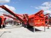 Terex screener at Hillhead Quarrying & Recycling Show