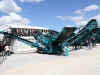 Powerscreen screener at Hillhead Quarrying & Recycling Show