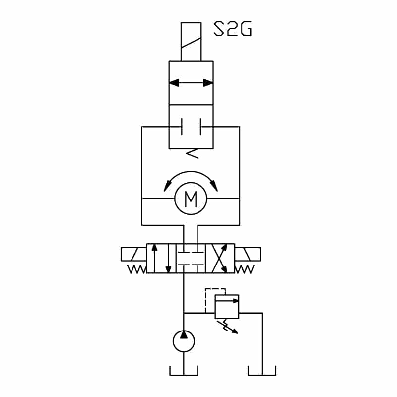 2 Way 2 Position Normally Closed Spool Valve Typical Schematic