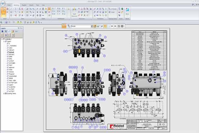 CAD screenshot
