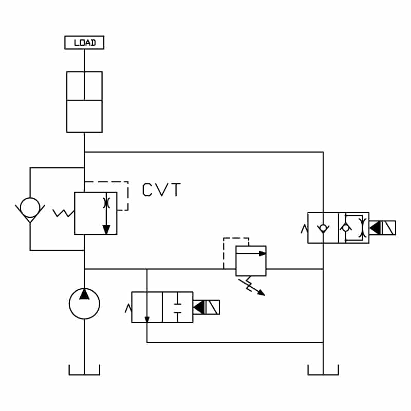 Check with Thermal Relief Valve circuit