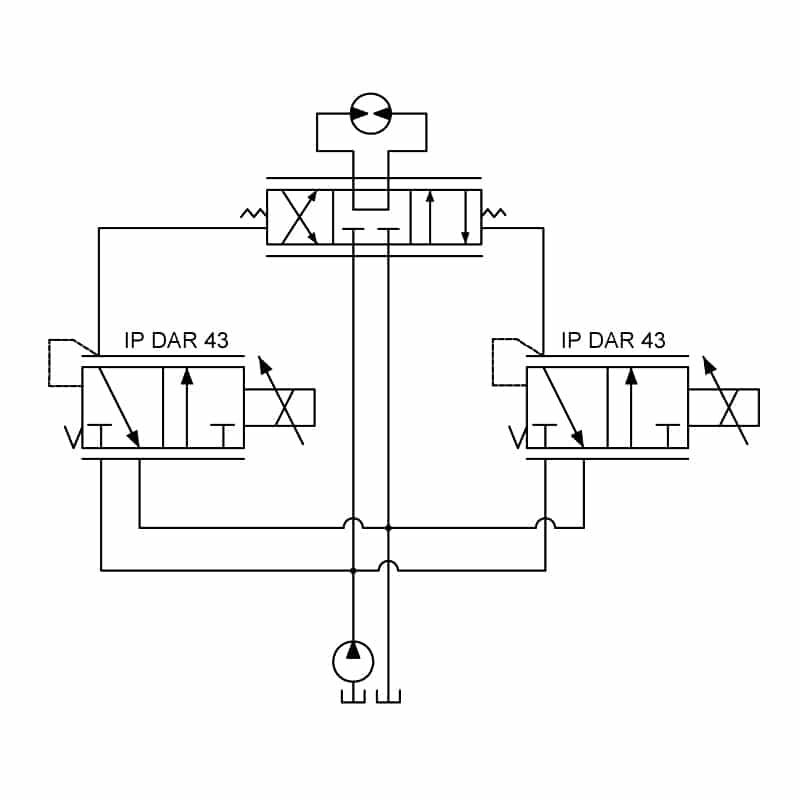 Proportional Pressure Reducing Valve circuit