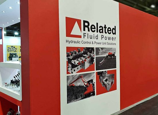 Related Fluid Power's exhibition stand at Lamma'19, NEC Birmingham