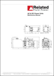 Power Units - Maintenance Manual